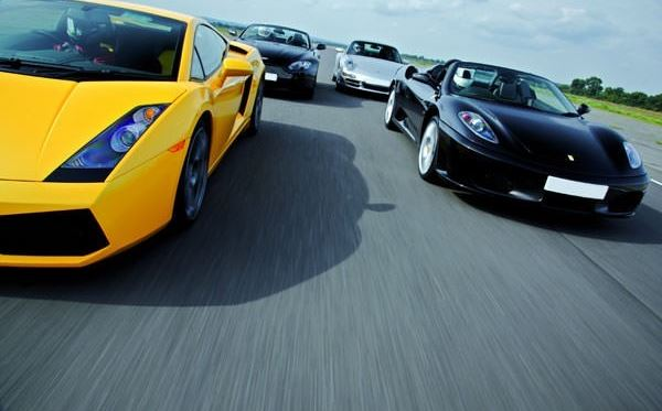 Five Supercar Driving Thrill With Passenger Ride Weekends