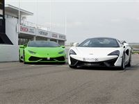 Double Platinum Supercar Blast with Free High Speed Passenger Ride at Goodwood