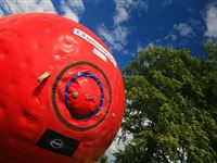 Eclipse Zorbing for Two in Nottingham