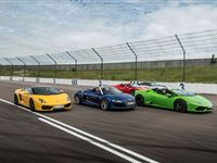 Four Supercar Driving Blast at Goodwood
