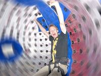 Harness Zorbing for Two at Manchester South