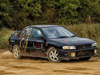 Rally Driving with High Speed Passenger Ride at Silverstone Rally School