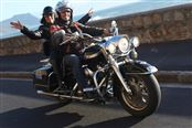 Three Hour Pillion Experience on a Classic Harley Davidson Motorcyle