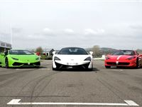 Triple Platinum Supercar Blast with Free High Speed Passenger Ride at Goodwood