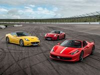 Triple Supercar Driving Blast at Goodwood