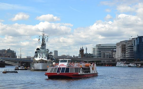 2 for 1 Thames Sightseeing Cruise River Red Rover Pass Amazing Experience 2