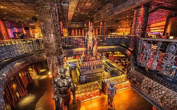 2 for 1 Two Course Dinner with Champagne Cocktail at Shaka Zulu Amazing Experience 2