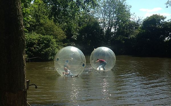 2 for 1 Water Zorbing at Pump It Up Events Amazing Experience 1