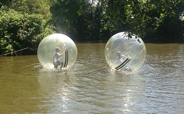 2 for 1 Water Zorbing at Pump It Up Events Amazing Experience 3