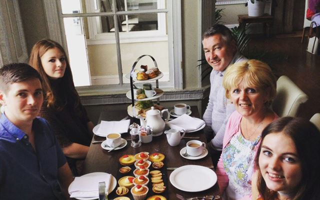 Afternoon Tea for Two at Colwick Hall Hotel Amazing Experience 1