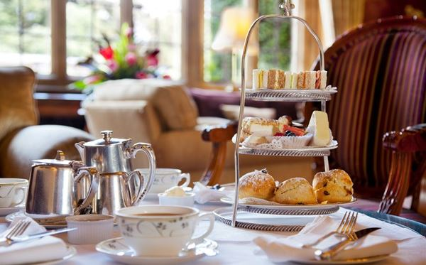 Afternoon Tea for Two at Tylney Hall Amazing Experience 1