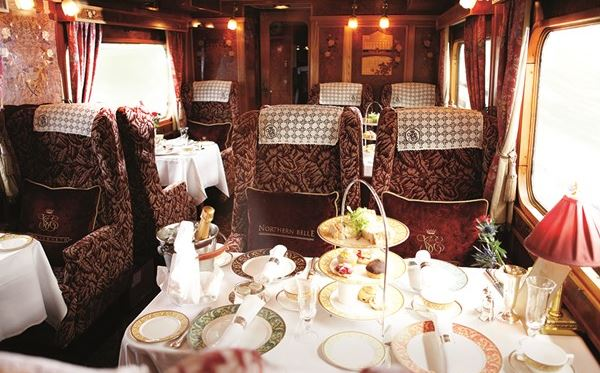 Afternoon Tea on the Northern Belle for Two Amazing Experience 2