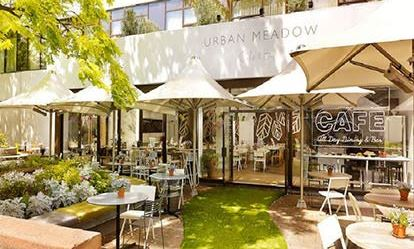 Afternoon Tea with Bubbly for Two at Urban Meadow Caf  Bar Amazing Experience 1