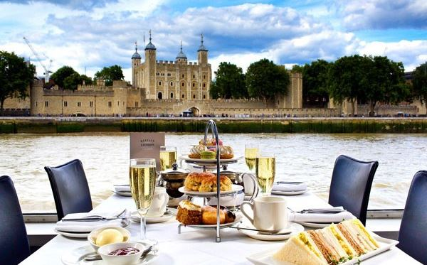 Bateaux Afternoon Tea Cruise on The Thames for Two Amazing Experience 1