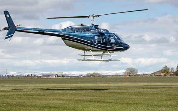 Blue Skies Helicopter Tour with Bubbly for Two Amazing Experience 1