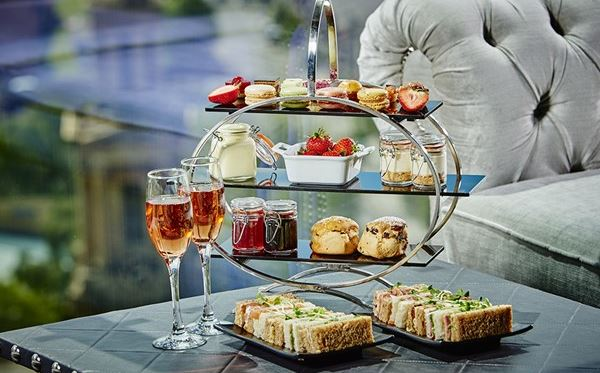 Champagne Afternoon Tea for Two at Marco Pierre White Restaurant Birmingham Amazing Experience 1