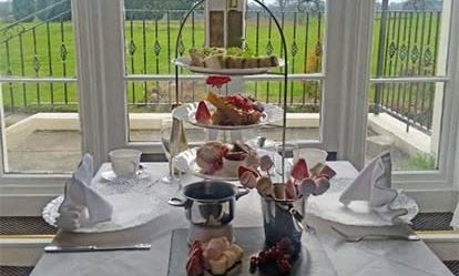 Champagne Afternoon Tea for Two at The Haughton Hall Hotel Amazing Experience 1