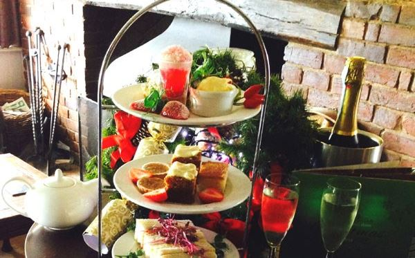 Champagne Afternoon Tea for Two at The Mill Hotel in Suffolk Amazing Experience 1