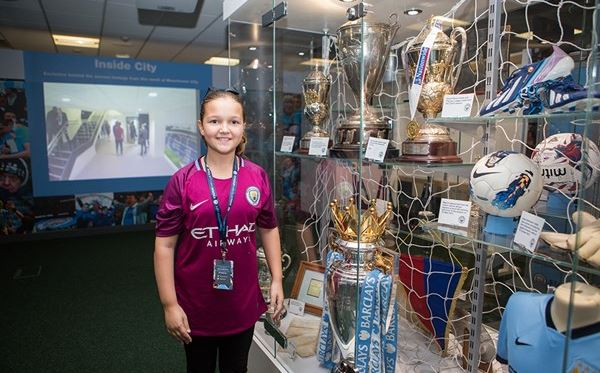 Child Tour of Manchester City Stadium Amazing Experience 1
