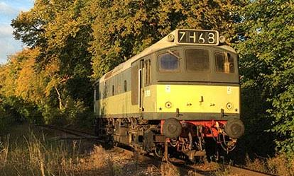 Drive a Heritage Diesel Train Amazing Experience 1