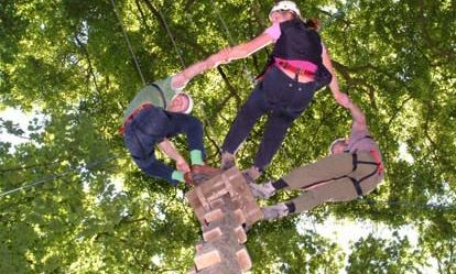 Family High Ropes Experience Amazing Experience 1