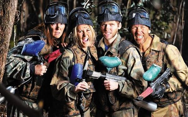 Family Paintballing Experience Amazing Experience 1