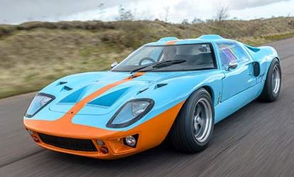Ford GT40 Drive Amazing Experience 1