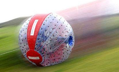 Harness Zorbing for Two Amazing Experience 1