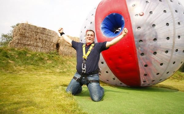Harness Zorbing for Two Special Offer Amazing Experience 1