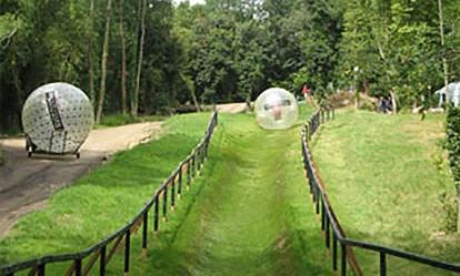 Hydro Zorbing for Two Amazing Experience 1