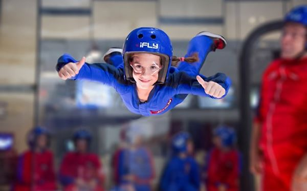 iFLY Indoor Skydiving in Manchester Amazing Experience 1