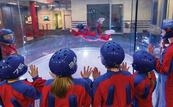 iFLY Indoor Skydiving in Manchester Amazing Experience 2