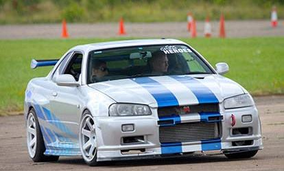 Nissan Skyline Thrill Amazing Experience 1