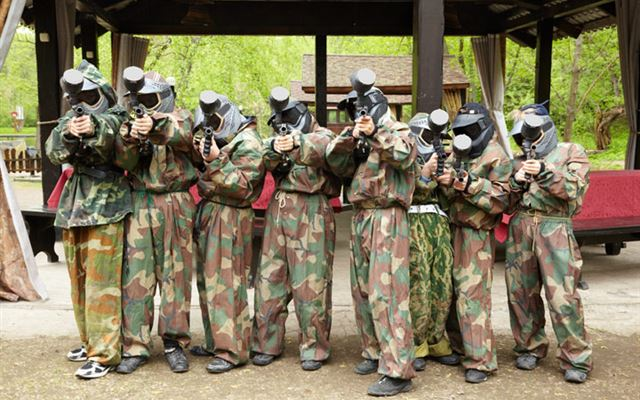 Paintball Combat for Eight Amazing Experience 1