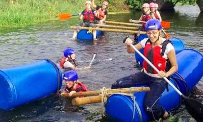 Raft Building Amazing Experience 1