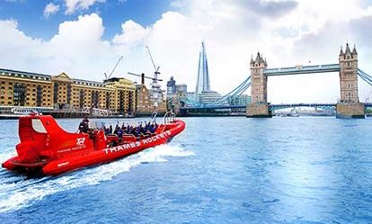 Thames RIB Boat Trip and a Ride on the London Eye for Two Amazing Experience 1