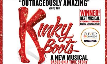 Top Price Tickets to Kinky Boots with a Meal for Two Amazing Experience 1