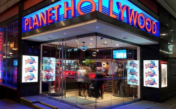 Two Course Meal for Two with Drinks at Planet Hollywood Amazing Experience 1