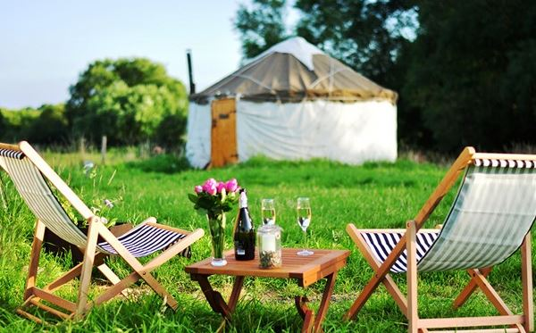 Two Night Glamping Experience for Two Amazing Experience 1