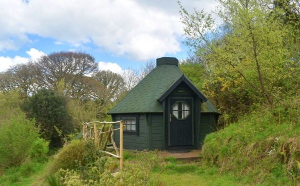 Two Night Stay in a Hobbit Hut at Acorn Camping Amazing Experience 1