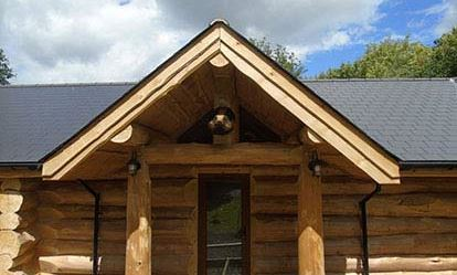 Two Night Stay in a Log Cabin at Badgers Wood Hoo Farm Amazing Experience 1