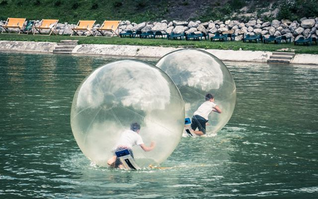 Winter Water Zorbing Experience for Two Amazing Experience 1
