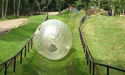 Zorbing for Two Amazing Experience 1