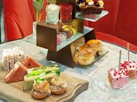 Afternoon Tea with Bottomless Bubbles for Two at London Marriott Hotel Park Lane