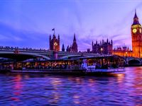 Bateaux Dinner Cruise on the Thames for Two