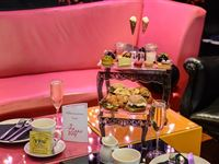 Champagne Afternoon Tea for One at the Cake Boy Emporium