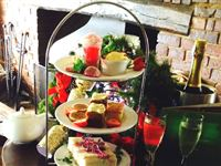 Champagne Afternoon Tea for Two at The Mill Hotel in Suffolk