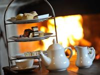 Champagne Afternoon Tea for Two at Woolley Grange