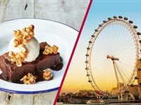 Coca Cola London Eye Tickets and 3 Course Meal with Prosecco at Jamies Italian Experience Day