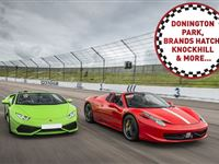 Double Supercar Driving Blast at a Top UK Race Track Experience Day